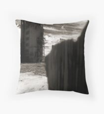 Landscape for Orson Wells # 5: Claw Throw Pillow