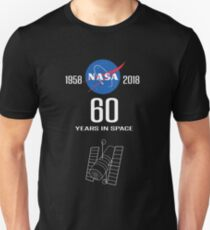 NASA -- 60th Anniversary of Space Exploration Unisex T-Shirt