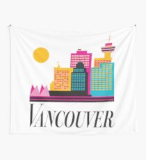 Vancouver Coal Harbour Wall Tapestry