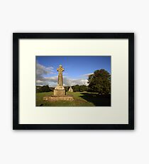 Dysert o Dea Celtic cross Framed Print