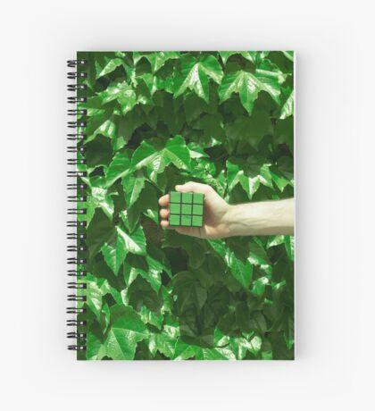 Grüne Träume Spiralblock