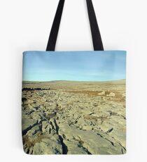 Burren landscape Tote Bag