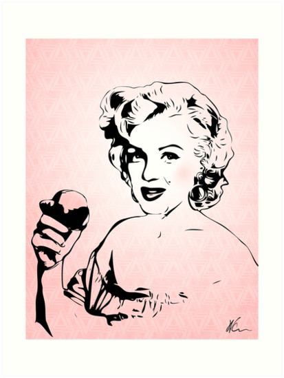 Marilyn Monroe   Pop Art by williamcuccio