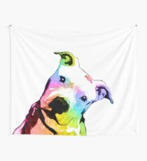 Pit bull | Rainbow Series | Pop Art Wall Tapestry