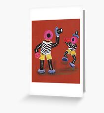 Bertie Bassett Greeting Card