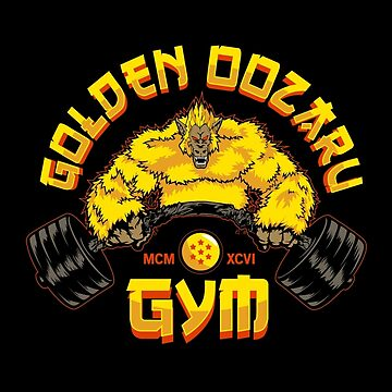 Golden Ozaru Gym by LiquidStryder