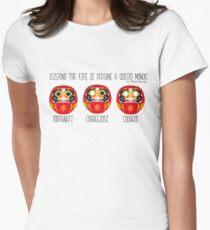 DARUMA B version, ita Women's Fitted T-Shirt
