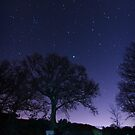 Stars at Mosshouse Reservoir by Purple128