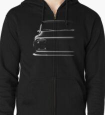 Chevy C-10 Pickup, black shirt Zipped Hoodie