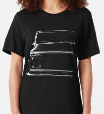 Chevy C-10 Pickup, black shirt Slim Fit T-Shirt