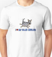 I love my blue heeler Unisex T-Shirt