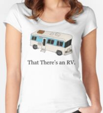 That There's an RV Women's Fitted Scoop T-Shirt