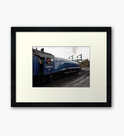 Sir Nigel Greasley Framed Print