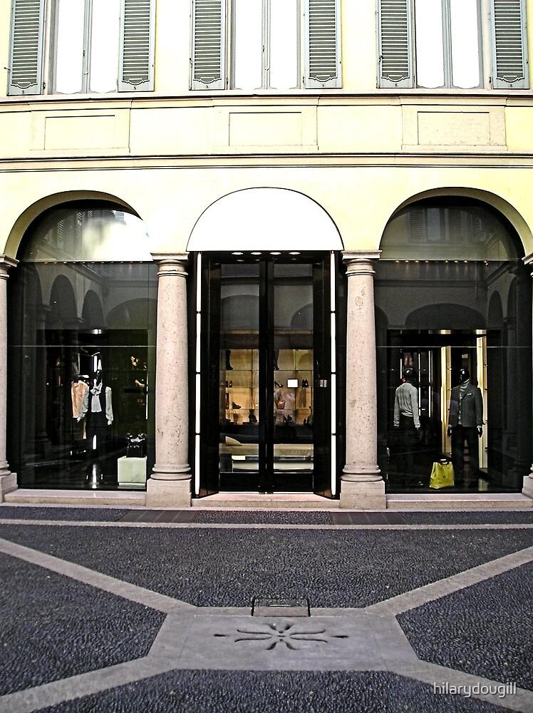 Posh shop in Milan by hilarydougill