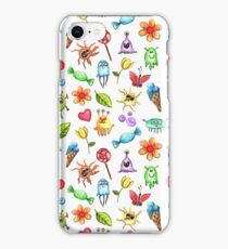 Monsters and Sweets  iPhone Case/Skin