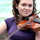Seaside violinist by MarekM
