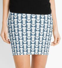 Beaker B&W Mini Skirt