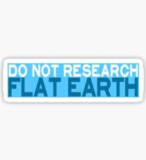 Flat Earth Designs - Reverse Psychology Sticker
