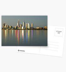 Perth Skyline Postcards