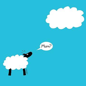 Sheep Cloud by HannahSterry