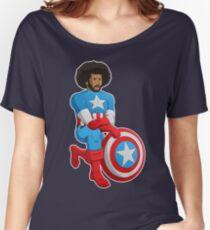 Kaeptain America Women's Relaxed Fit T-Shirt