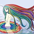 Rainbow Bath by Bianca Loran
