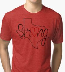 Texas Strong Tee Tri-blend T-Shirt