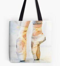 Ballet En Pointe Tote Bag