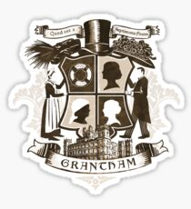 Grantham coat of arms (sepia) Sticker