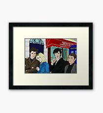 WhoLock On Baker Street Framed Print