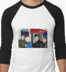 WhoLock On Baker Street Men's Baseball ¾ T-Shirt