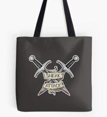 D&D - Rogue - Sneak Attack Tote Bag