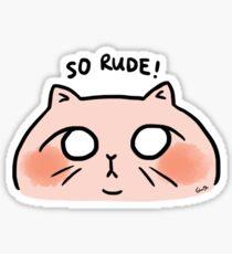 BO & GG - SO RUDE Sticker