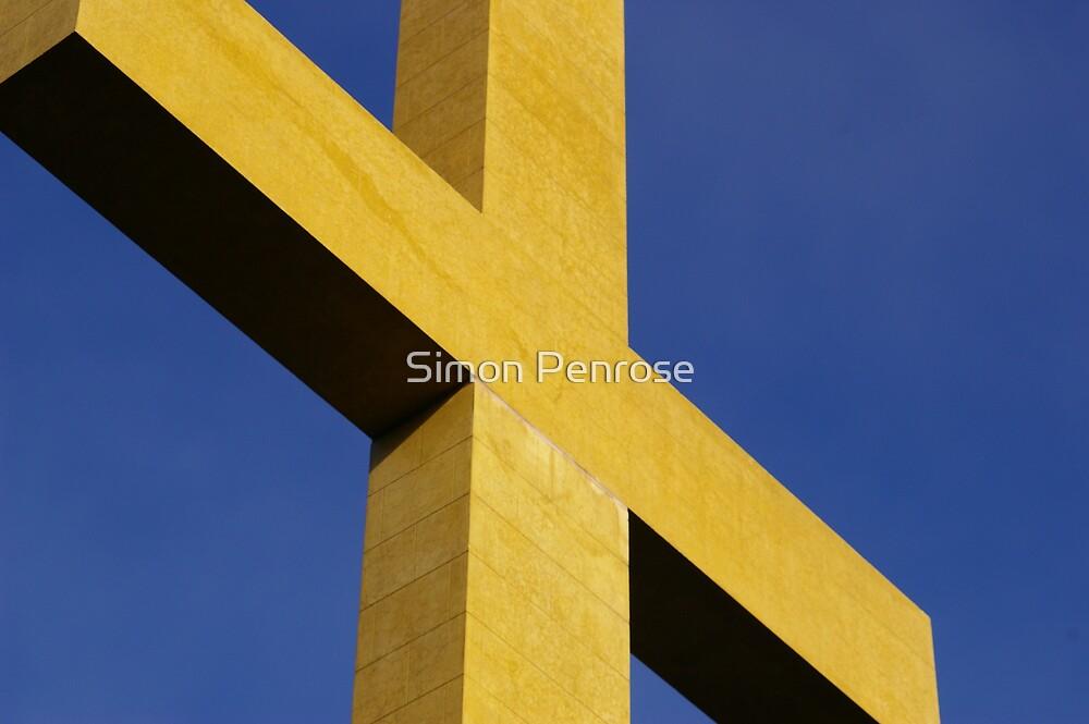 the cross by Simon Penrose