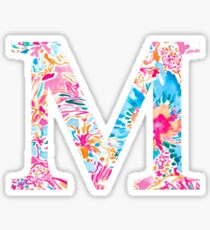 The Letter M Sticker