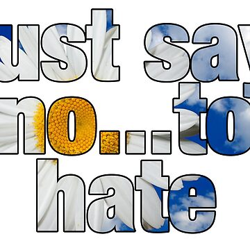 Just Say No...To Hate by ViktorCraft
