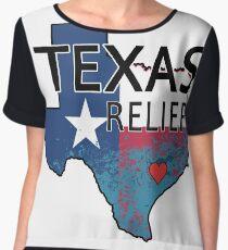 Harvey Texas Relief Effort. Support Texas Chiffon Top