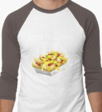 "Funny Nacho Design - ""It's Nacho Time"" T-Shirt"