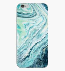 Colour Spill - Ocean Topography iPhone Case