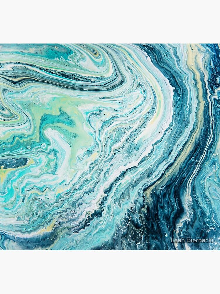 Colour Spill - Ocean Topography by adventureliela