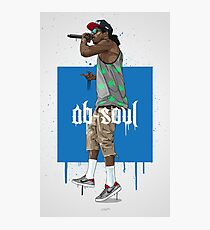 Ab Soul Photographic Print