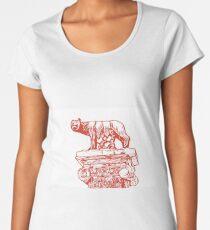 LUPA DI ROMA Women's Premium T-Shirt