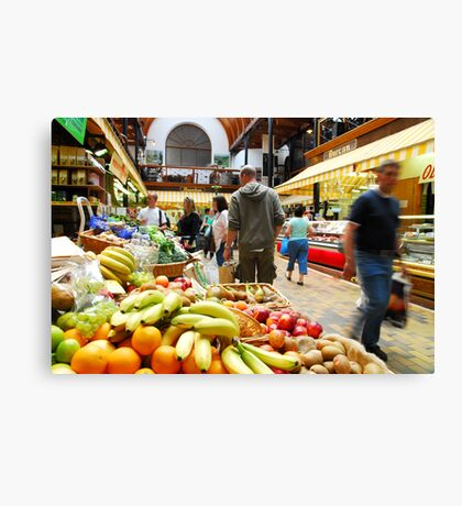 English Market Canvas Print