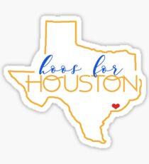 Hoos for Houston Sticker