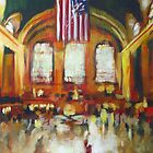 Grand Central Train Station New York City NYC by Samuel Durkin