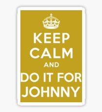 Do It For Johnny Sticker