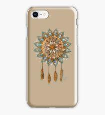 Golden Dreams Dreamcatcher iPhone Case/Skin