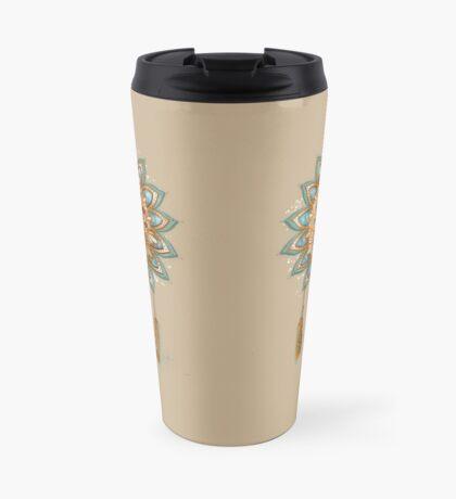 Golden Dreams Dreamcatcher Travel Mug