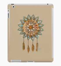 Goldene Träume Dreamcatcher iPad-Hülle & Klebefolie