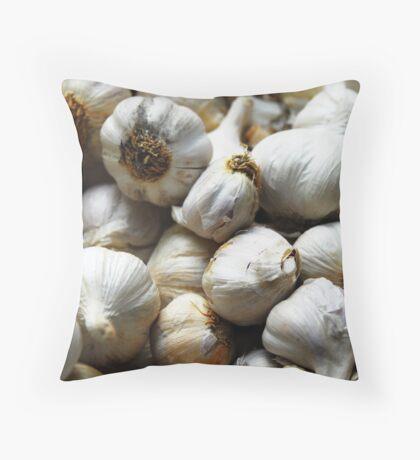 Garlic Throw Pillow
